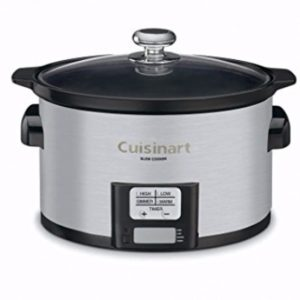 Cuisinart 3-1/2-Quart Programmable Slow Cooker Review