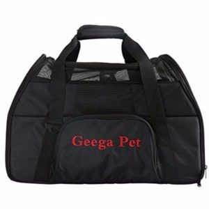 Portable Foldable Comfortable Safe Soft Sided Pet Carrier by Geega Pet Review
