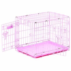 Precision Pet ProValu 2000 Pink 2-Door Dog Crate