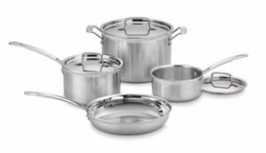 Cuisinart MCP-7N MultiClad Pro Stainless-Steel Cookware 7-Piece Cookware Set Review