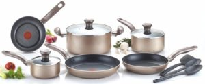 T-fal C067SC Metallics Nonstick Thermo-Spot Heat Indicator Cookware Set Review
