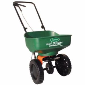 Scotts Turf Builder EdgeGuard Mini Broadcast Spreader Review