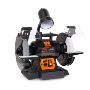WEN 4280 5 Amp 8″ Variable Speed Bench Grinder with Work Light Review