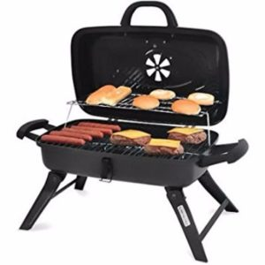 Charcoal Grill Portable BBQ Outdoor Camping Grilling Barbecue Smoker Review