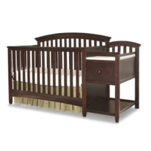 Imagio Baby Montville Chocolate Mist 4 in 1 Crib and Changer Combo with Pad Review