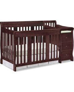 Stork Craft Portofino Espresso 4-in-1 Fixed Side Convertible Crib and Changer Review
