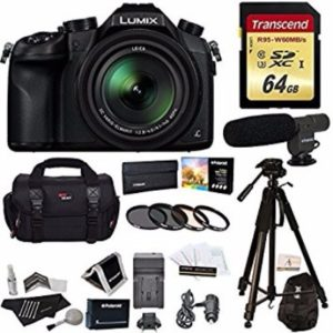 Panasonic Lumix DMC-FZ1000 4K QFHD/HD 16X Long Zoom Digital Camera Review