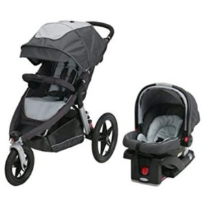 Graco Glacier Relay Click Connect Jogging Stroller Travel System Review