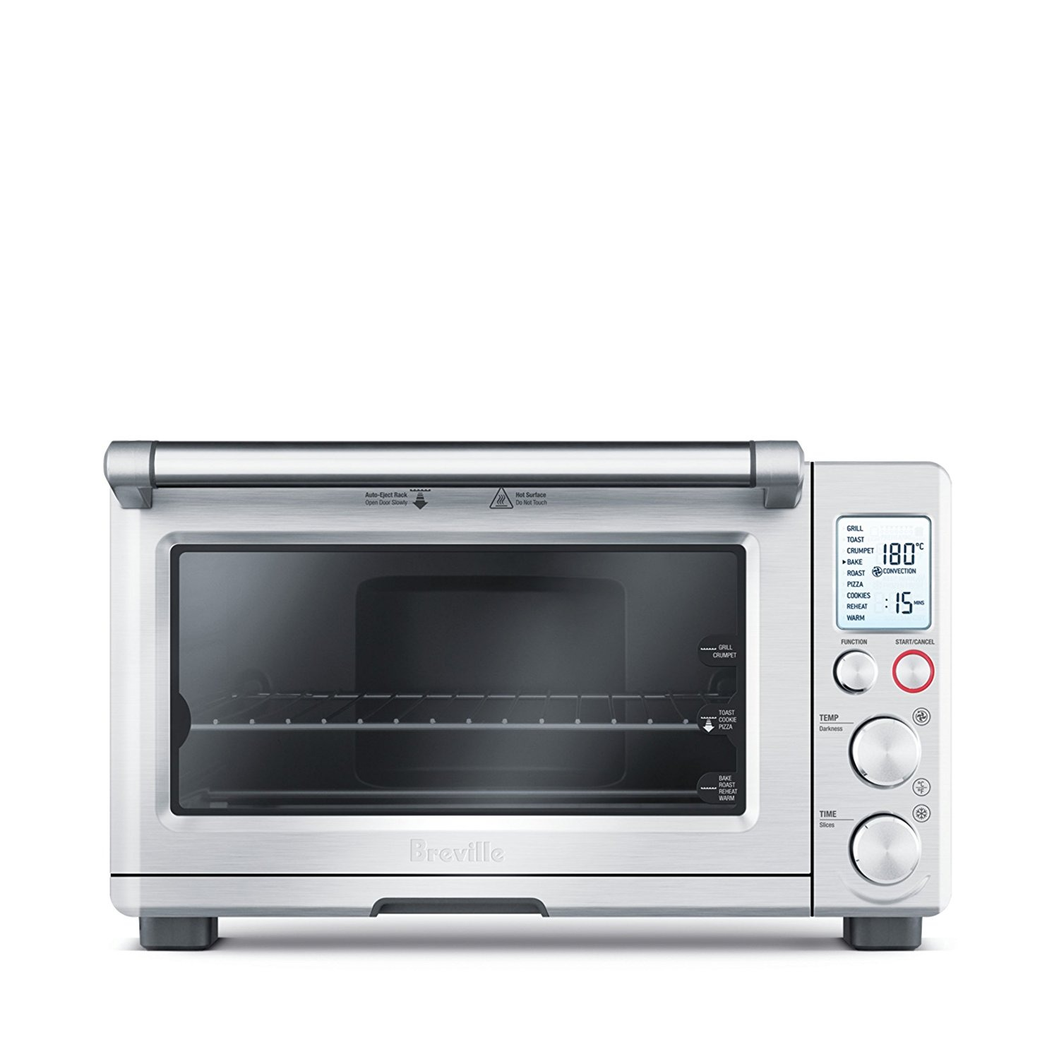 Breville BOV800XL Smart Oven 1800 Watt Convection Toaster Oven with Element IQ
