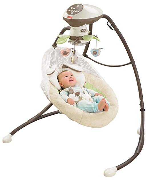 Fisher-Price Snugabunny Cradle ‗N Swing with Smart Swing Technology Review