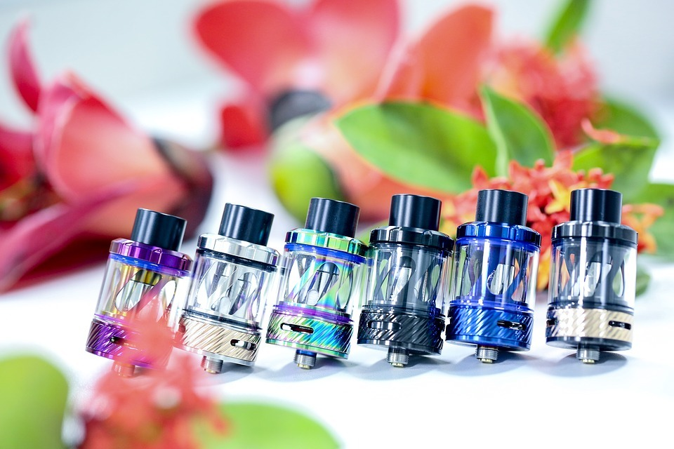 atomizers in vaping devices