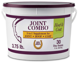 Horse Health Joint Combo Hoof & Coat, convenient 3-in-1 supplement for complete joint, hoof & coat care, 3.75 Pound