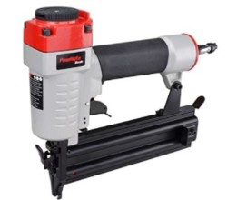 PowRyte 18 Gauge Air Brad Nailer with Tool-Free Jam Release Mechanism - 5/8-inch to 2-inch